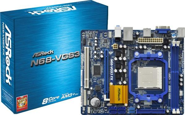 Asrock N68-VGS3 FX NVIDIA VGA Driver for Windows Mac