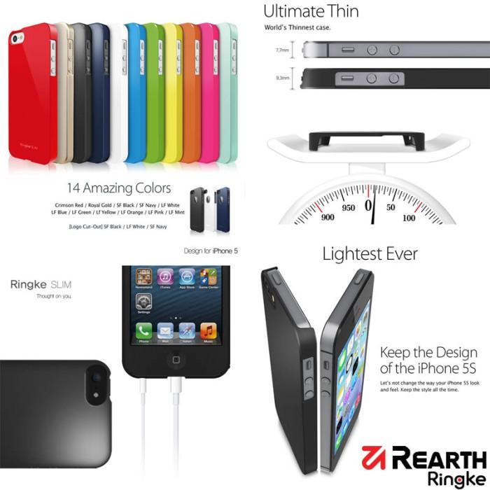 harga Ringke slim case iphone 5 - 5s Tokopedia.com