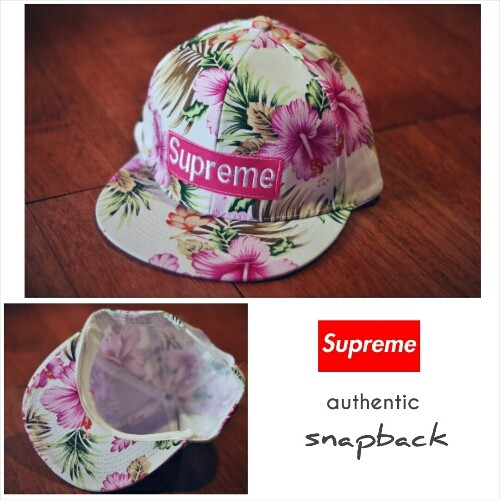 Jual topi hats supreme snapback floral authentic - snick  o daisy ... 0a66142f5bb