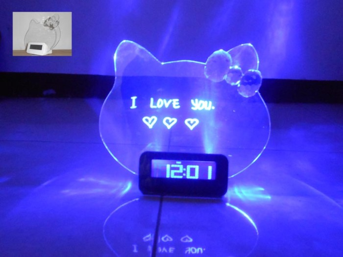 Jual JAM DIGITAL PAPAN TULIS NYALA LED HELLO KITTY MEMO BOARD ... ca09f11861