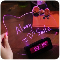 Jual JAM DIGITAL + MEMO BOARD   PAPAN TULIS NYALA LED HELLO KITTY ... 082a236f7b