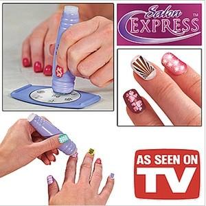 Jual Salon Express / Nail Art Stamping Kit