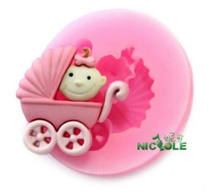 harga Cetakan kue / puding / cokelat / sabun  nicole  motif kereta dorong bayi Tokopedia.com