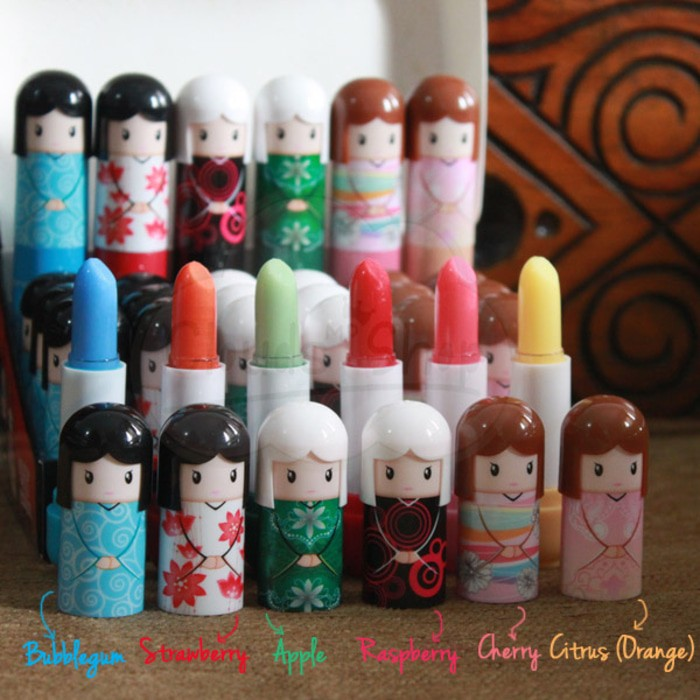 Lipbalm Boneka Kimono Jepang - Harga Satuan