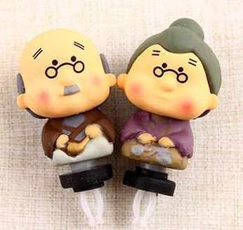 harga Earphone plug grandpa grandma for couple (kakek nenek 1 pasang) Tokopedia.com