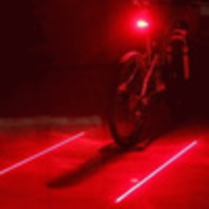 harga Lampu sepeda laser tale garis line infrared gowes aksesoris sepeda motor safety mountain bike Tokopedia.com