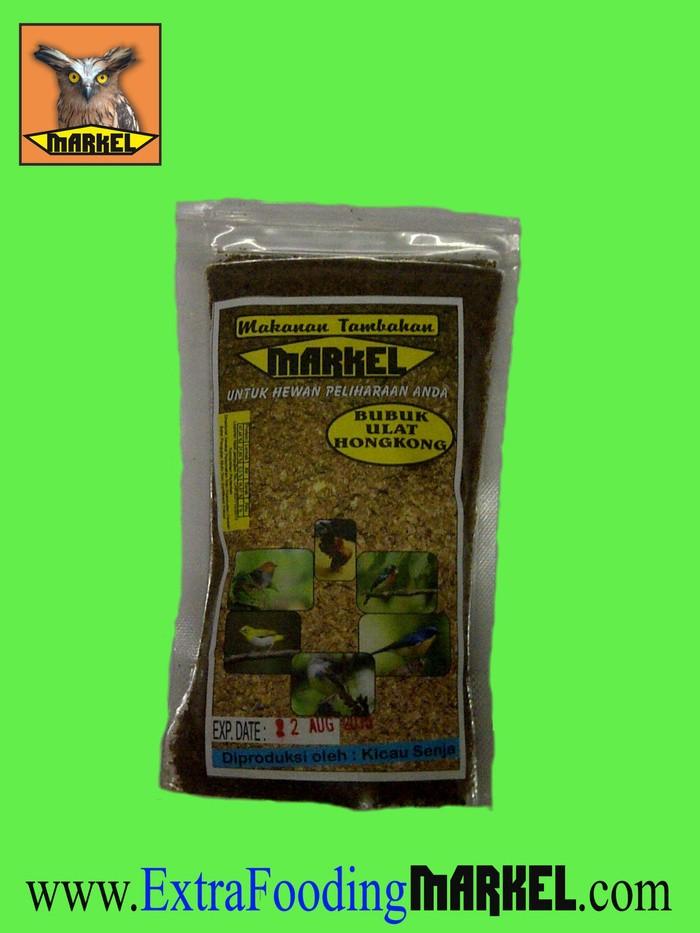 Foto Produk Tepung Ulat hongkong MARKEL isi 100 Gram dari SERANGGA KERING MARKEL