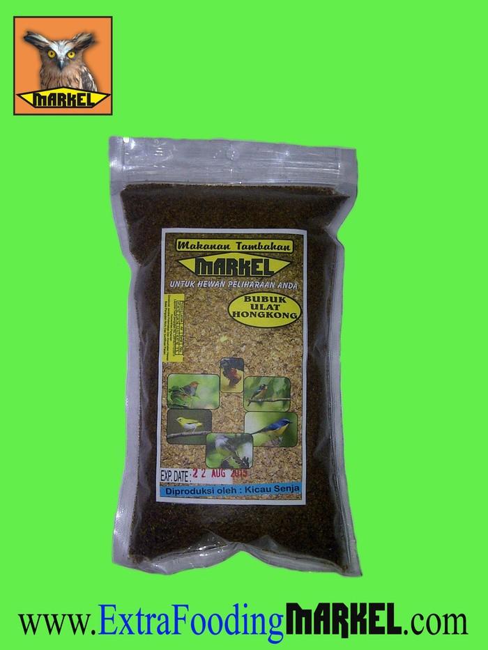 Foto Produk Tepung Ulat hongkong MARKEL isi 300 Gram dari SERANGGA KERING MARKEL