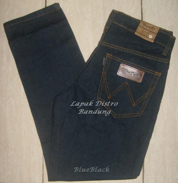 Wrangler Hitam Garment BlueBlack