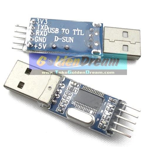 Jual Converter USB to TTL Serial Module Modul Konverter dengan chip  PL2303HX Prolific 2303HX - Kota Medan - Golden Dream | Tokopedia