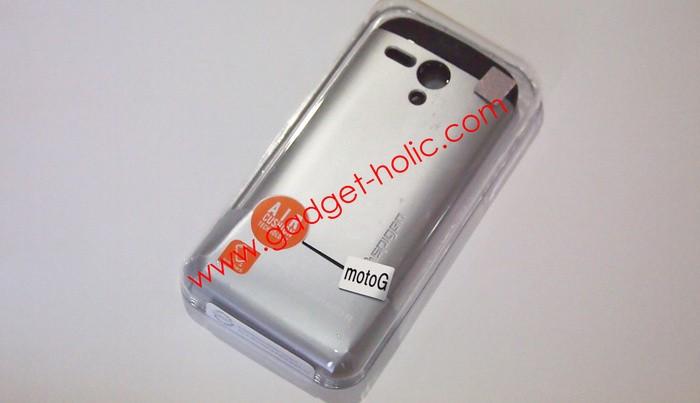 Jual SGP Spigen Motorola Moto G Silver