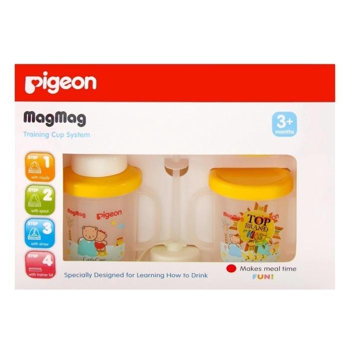 harga Pigeon mag - mag training cup system/botol minum anak Tokopedia.com