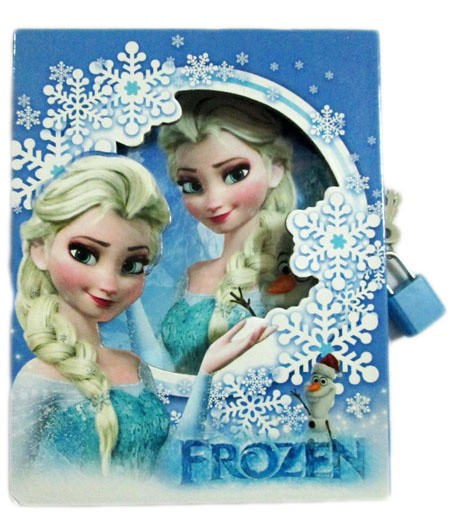 jual diary frozen 'elsa'  kota bandung  ganyuvi co
