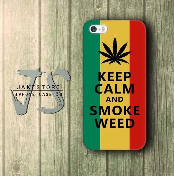 harga Keep calm smoke weed rasta reggae theme iphone case rasta reggae  casing hp casing iphone  tersedia type 4 4s 5 5s 5c Tokopedia.com