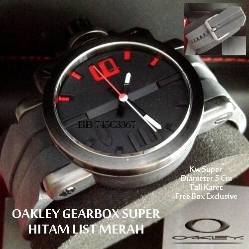 Jual jam tangan OAKLEY GEARBOX - Henzshop  f86bef737b