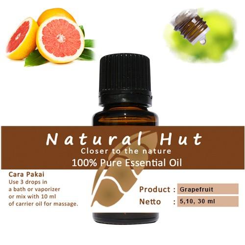 Foto Produk 100% PURE ESSENTIAL OIL (GRAPEFRUIT) - 10ml dari Natural Hut