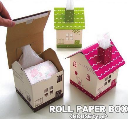 Jual Kotak Tisu   Tissue Motif Rumah Kecil dari Karton (Rakit ... 5d93f22e59