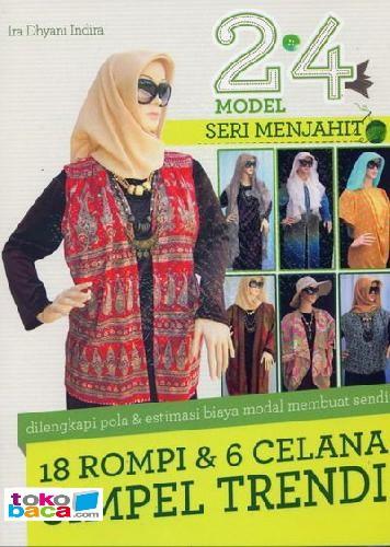 harga 24 model seri menjahit 18 rompi & 6 celana simpel trendi Tokopedia.com