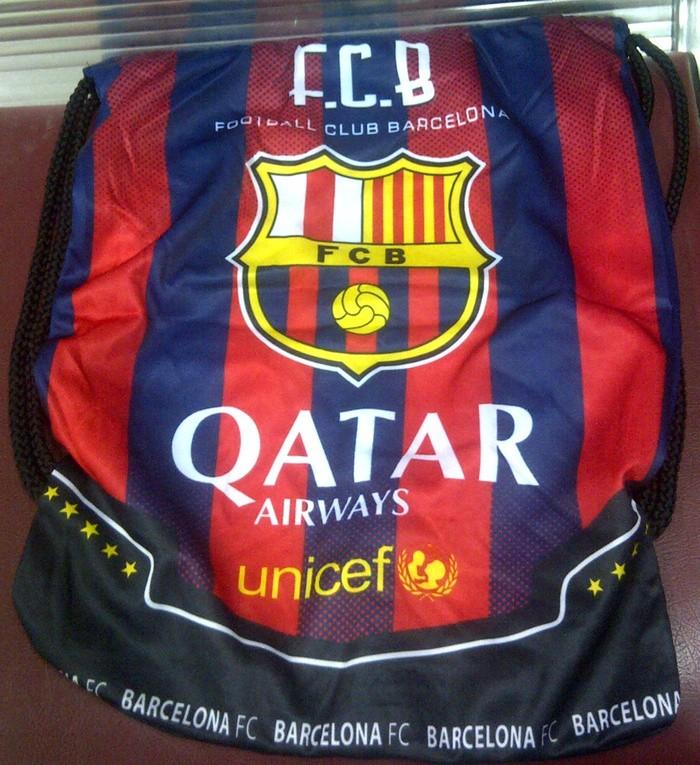 ... harga Tas serut klub bola barcelona ransel barca kualitas tinggi  Tokopedia.com 8ff3818450