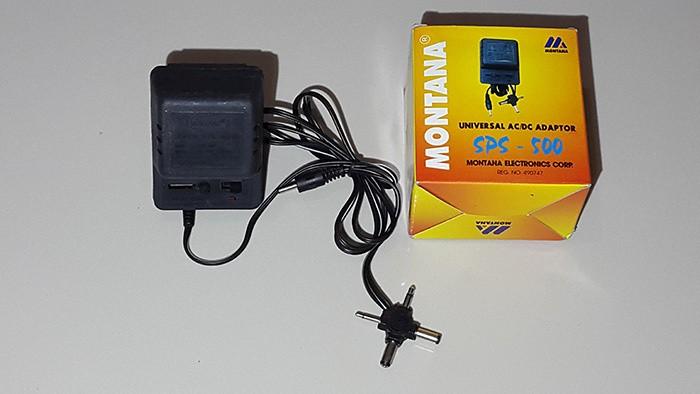 Foto Produk Adaptor 500mA Montana 3v,4.5v,6v,7.5v,9v & 12v ( Multi output DC ) dari Warunglistrik