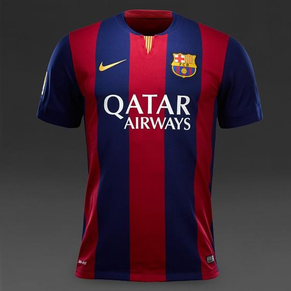 Jual Jersey Bola Grade ORI Barcelona Home Official 2014