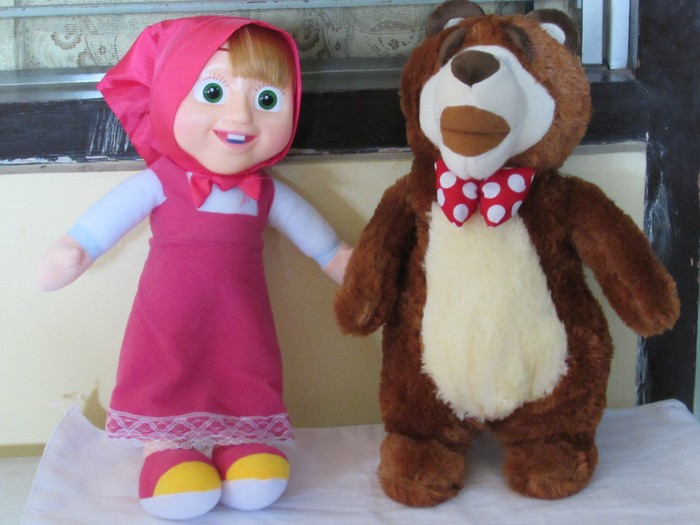 Boneka Marsha and The Bear ~ Masha n The Bear ~ Mainan Si .