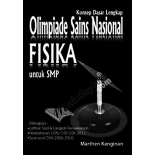harga Konsep dasar lengkap olimpiade sains nasional fisika smp Tokopedia.com