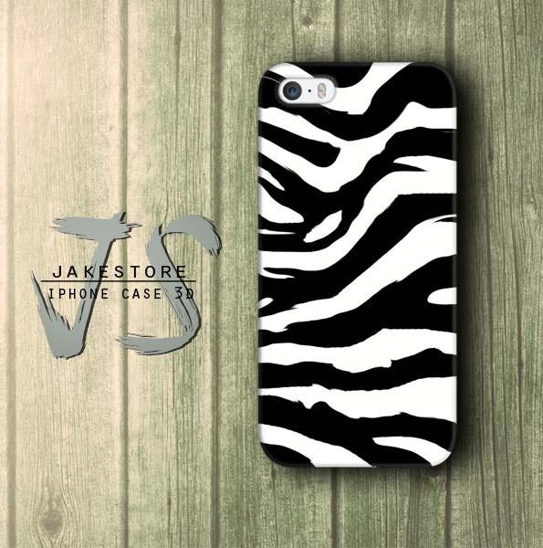 Jual Zebra Pattern Wallpaper Iphone Case Motif Zebra Patern Hitam
