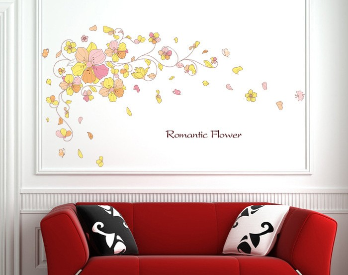 jual wall sticker uk 60*90cm wallpaper dinding jumbo ukuran 60x90cm