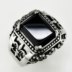 harga Cincin pria cakar naga spesial black claw ring titanium 316l stainless steel Tokopedia.com