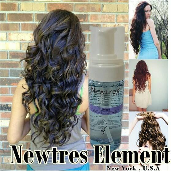 Foto Produk Newtress Element Curly Instant dan awet dgn cara baru tanpa panas catok tidak merusak rambut keriting wavy hair no heat dari Dravinshop