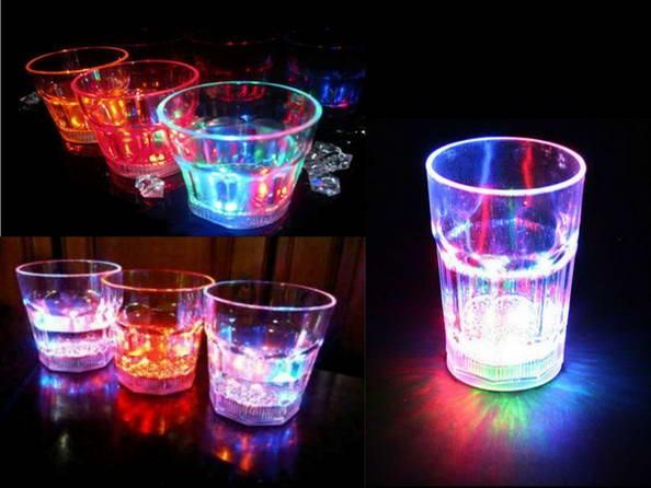 harga Gelas minum sensor air led berubah 7 warna uk kecil cafe disko valentine produk barang unik murah reseller dropship grosir Tokopedia.com