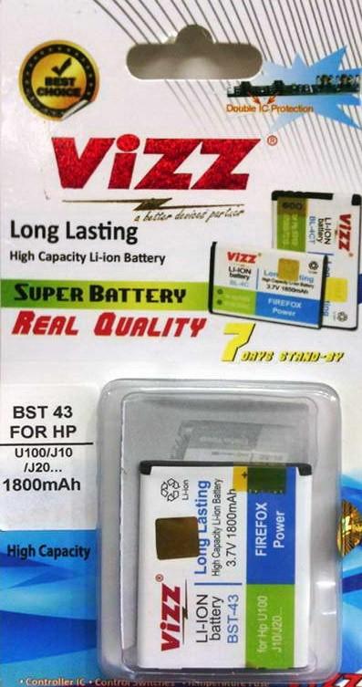 harga Baterai/battery/batre/dobel/double power vizz sony ericson bst-43 bst43 1800mah for sony cedar j108 hazel j10 j20wt13i x2 Tokopedia.com