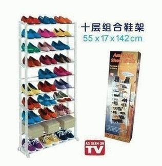 harga Amazing shoe rack shoes as seen on tv rak sepatu wanita pria high heels sporty kets olahraga futsal basket kotak sepatu sandal Tokopedia.com