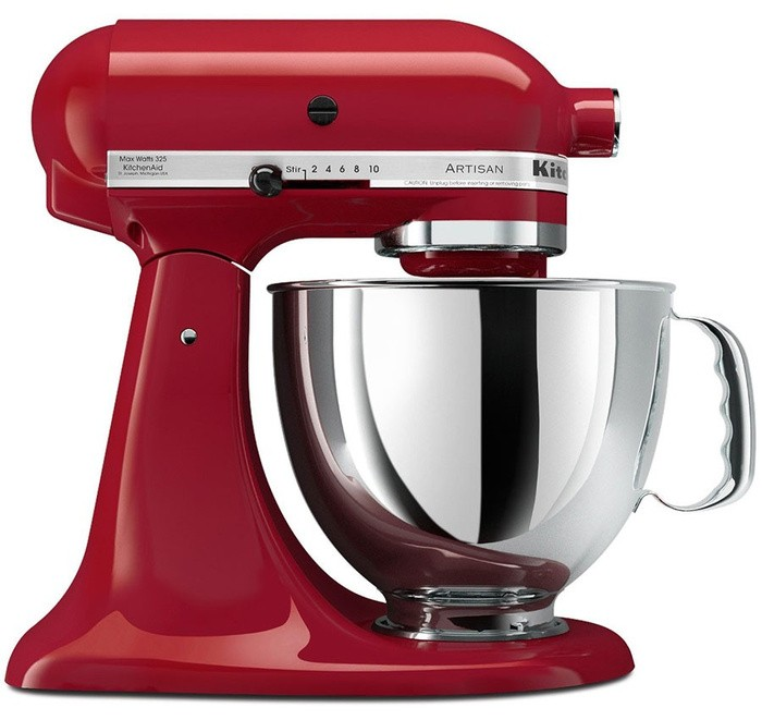 harga Kitchenaid artisan series 5-quart stand mixer 5ksm150 (empire red) Tokopedia.com