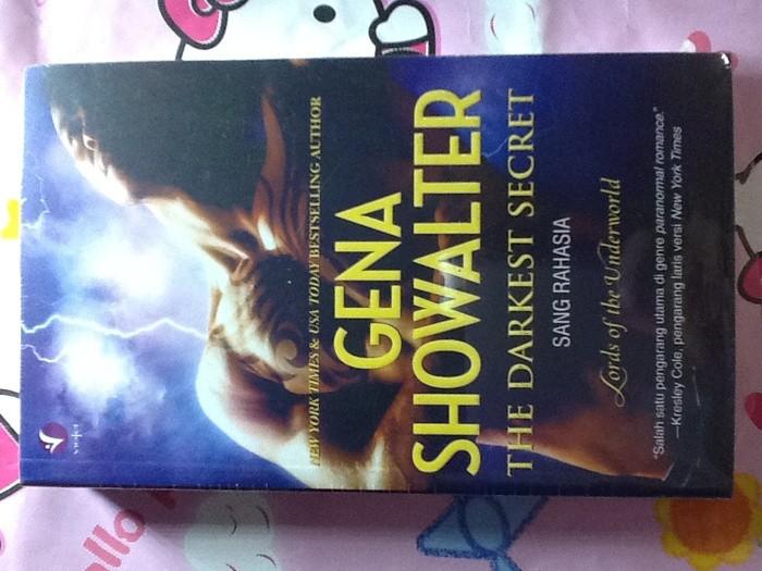 harga Novel the darkest secret sang rahasia (lords of the underworld #7) ~ gena showalter Tokopedia.com