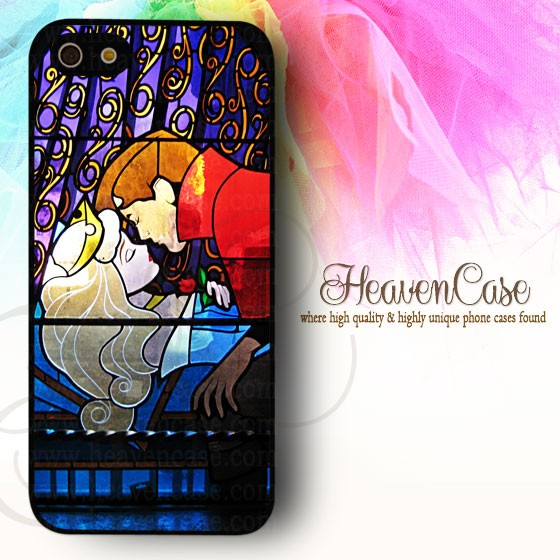Disney sleeping beauty iphone 5/5s hard case,casing,unik,lucu,