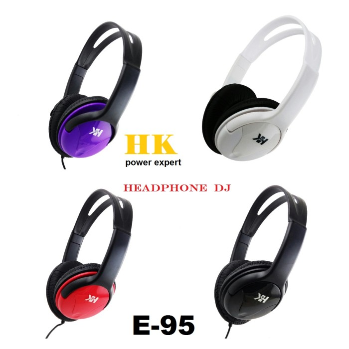 harga Hk power expert headphone dj extreme bass e-95 Tokopedia.com