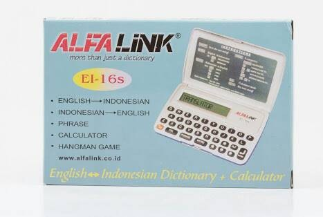 ALFALINK EI-16S - Kamus Elektronik