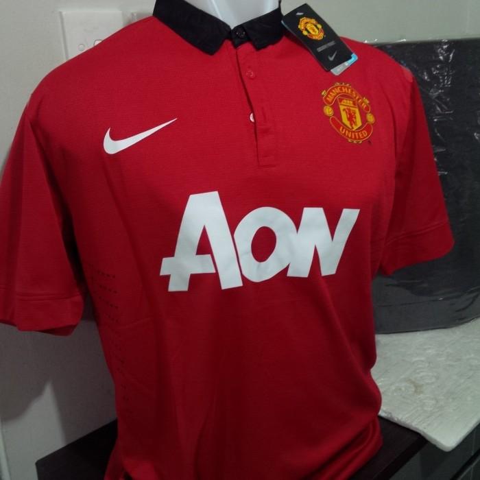 ad3ccef1e3c Jual Jersey Manchester United Home (13-14) - Kota Administrasi ...