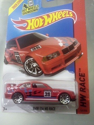 harga Bmw e36 m3 race (red) - hotwheels Tokopedia.com