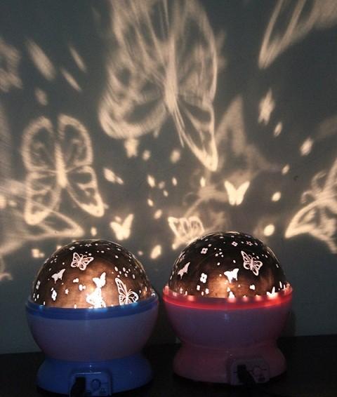 harga Lampu proyektor kupu kupu butterfly / projector led lamp - hias tidur Tokopedia.com