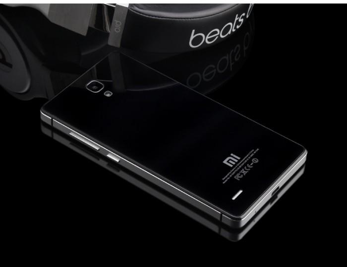 Aluminium case xiaomi redmi note ori 100% - black silver