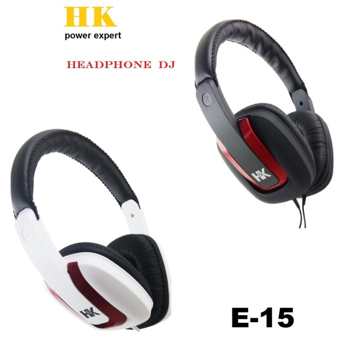 harga Hk power expert headphone dj extreme bass e-15 + vol Tokopedia.com