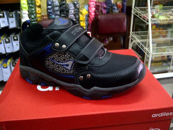 Jual Sepatu Anak Ardiles Vellano T Black R Blue Bukit Shafa