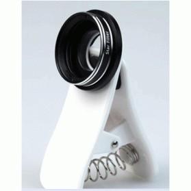 harga Universal clip lens effect hd star filter for smartphone - white Tokopedia.com