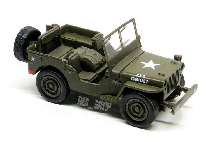 harga Diecast jeep willys millitary usa 1:32 Tokopedia.com