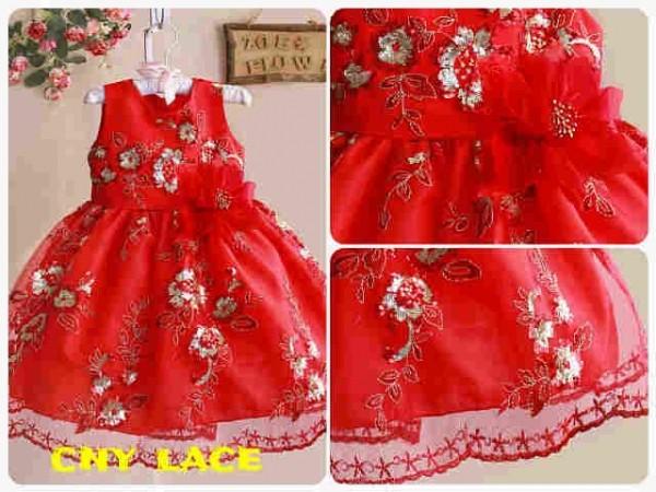 harga Dress cny imlek brand zoe buntung lace - renda Tokopedia.com