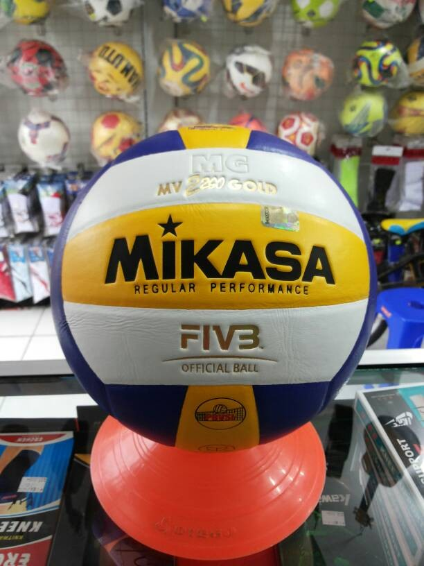 Bola Volly Mikasa MV 2200 Gold (Original)