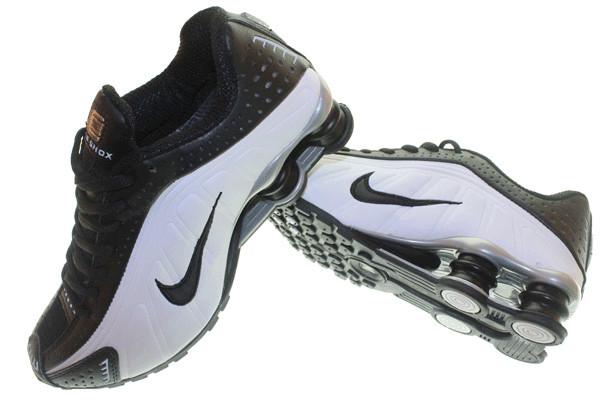 best service 6595f ce947 ... greece sepatu basket nike shox r4 putih hitamfull ter murah berkualitas  f80d2 35806